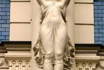 Atlantes escultoricos