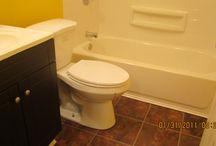 Bathroom Remodel / new bath from CAM Real Estate Development LLC