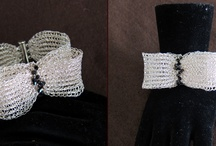 Trouky's Crochetted bracelets