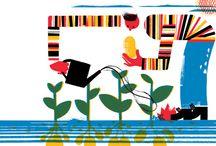 illustration , picture book / 어린이 그림책 등등