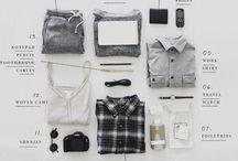 Dans la valise / Packing
