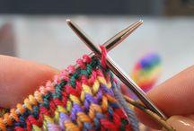 Knitting - stretchy castoff method