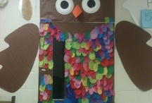 Bulletin Boards & Classroom Doors / Creative Ideas for bulletin boards and doors / by Amber Whitehead