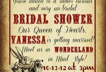 The Secret Garden Tea Party / Theme - Alice in Wonderland, Secret Garden