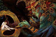 Mythology creatures