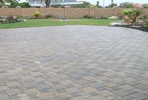 Project: driveway and garages
