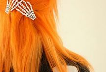 Orange Hair / by Sugar Skull Life