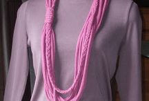 t shirt scarfs