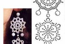 Horgolt ékszerek / Crochet jewelry