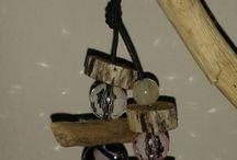 portachiavi pippiland creazioni / portachiavi...pietre e legnetti di mare