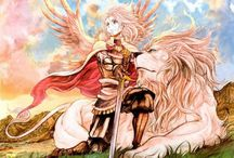 """Arslan Senki / """"Even if our philosophies differ, might there not be some way for us to live with one another?"""""""