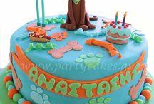 9th birthday cakes