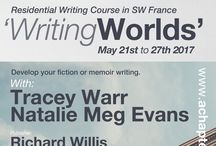 'Writing Worlds' Course SW France / achapteraway: residential writing course in SW France. May 2017