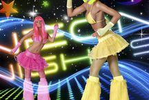 Neon party / De allerleukste verkleedkleding en toebehoren voor jouw Neon party!