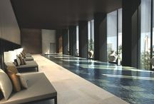 interior inspiration - swimming pool rooms