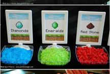 Minecraft Birthday / Ideas for Lawson's next bday party! / by Tahra Williams