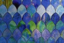 COLORS & TEXTURES- Artists Inspiration Board / Working with colors / by Jane Drake Hale