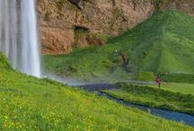 AH30  South Coast & Þórsmörk / We begin this tour by driving over the mountain heath town and then along the south shore to Seljalandsfoss waterfall.From there our journey continues towards the interior to our main attraction, Þórsmörk.