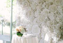 Wall Wedding Decorations