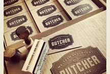 Butchers logos & Identity Branding