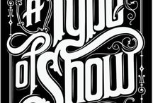 vintage lettering / by Robert Gamby