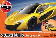 Airfix UK QuickBuild series has new items released.
