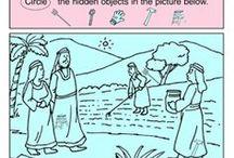 Ninos de la biblia
