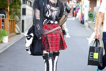 Japanese Street Fashion / fashion in the streets in Japan