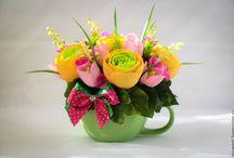květy z mašlí
