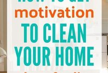 Motivation to clean house