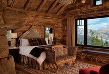 Rumah balok kayu