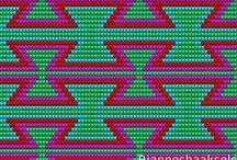 wayuu táska minták