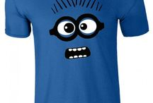 Despicable Me Minion Faced T-Shirt / Despicable Me Minion Faced T-Shirt can be bought at Slimfitjackets.co.uk at an amazingly cheap price with free shipping in the UK. For more visit: https://goo.gl/ZyUya3