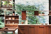 Kitchen ideas / Interior design ideas from open plan kitchen