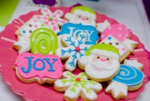 Cookie Creations: Christmas & Winter / Christmas & Winter Sugar Cookies / by Amanda Morris
