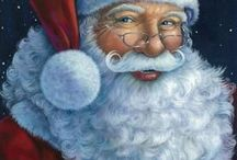 Santa  Claus photos / I love collecting images of the King let himself