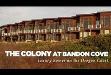 The Colony at Bandon Cove / Exquisite high-end oceanside community in Bandon offered exclusively by Beach Loop Realty.