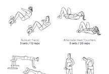 Abs workouts