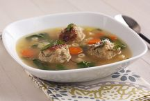 Recipes To Try: Meatball Monday / My family started Meatball Monday this year and it's been a huge hit!  We've gone through a dozen meatball recipes - all meats, all favors, all styles...so I need to start gathering more recipes!