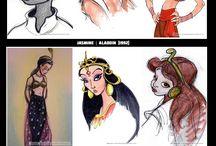 Character design/concept art