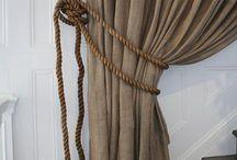 Závěsy /okenní dekorace / curtains /drapes