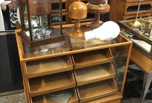 Haberdashery Drapers Shop Display Cabinets | D and A Binder / Own a fashion store? Love antique furniture? We have a range of haberdashery counters and cabinets - come see our full range instore, as these are some of our bestsellers and do go quickly. #Haberdashery #OakDisplayFurniture #Antique #Antiques #ShopDisplay #Art #Drapers #Counter #Displays #London #DandABinder #InteriorDesign #DesignInspo #PhotooftheDay #ShopDisplay #Shopfront #FashionShop #FashionDisplay #AntiqueFurniture #VintageFurniture #Vintage #Clothes #DrapersCounter #HaberdasheryCounter