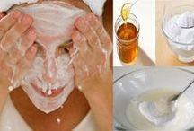 masca cu bicarbonat