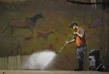 Banksy / by Amy Thrasher