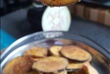beringela crocante no forno