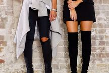 over the knee boots / Boots