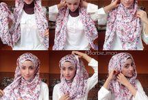 Hijab tutorial / Work