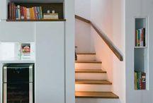 revestimento escadas