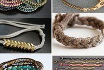 Bracelets. DYI