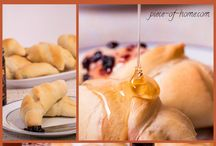 For the Love of Dough / Yummy breads, both normal and sweet!